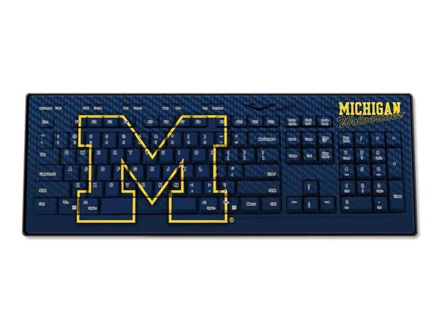 Michigan Wolverines Wired USB Keyboard