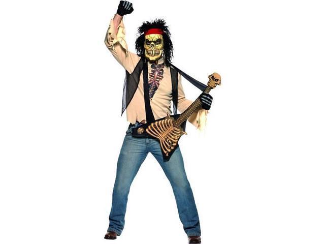 Zombie Rocker Costume Adult Medium