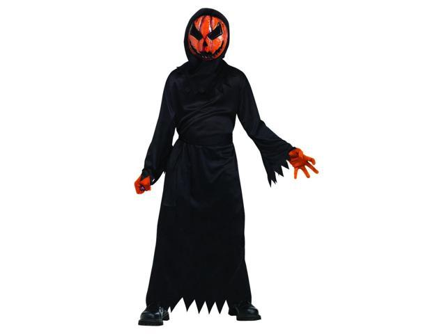 Bleeding Evil Pumpkin Costume Child Medium 8-10