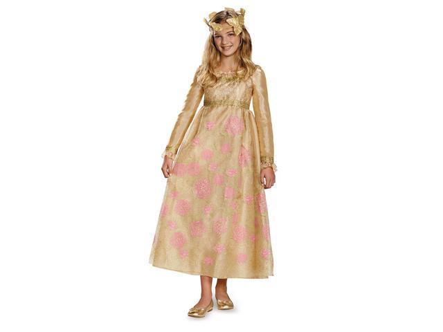 Maleficent Disney Aurora Coronation Gown Prestige Child Costume 4-6X