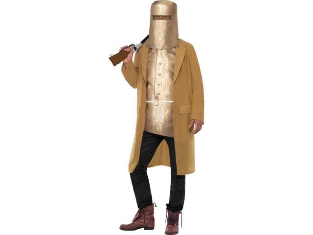 Ned Kelly Faux Armour Costume Adult Medium