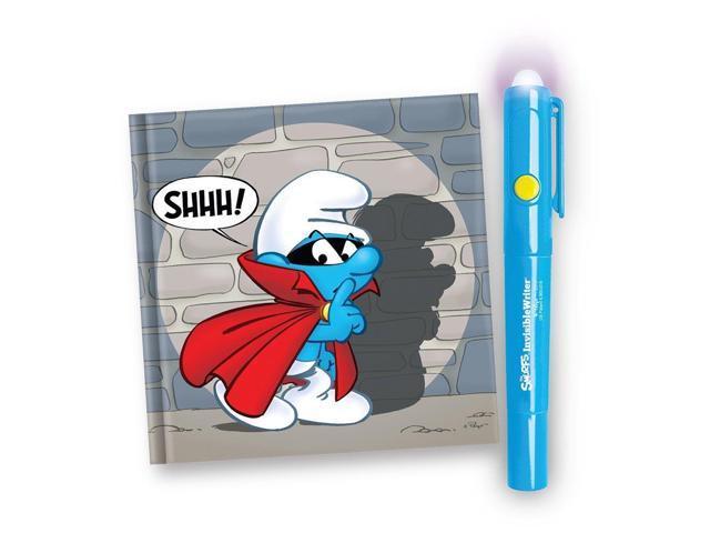 Smurfs Invisible Writer Smurfs Secret Journal