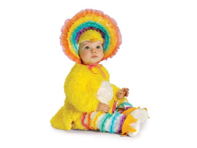 Rainbow Chickie Baby Costume 6-12 Months