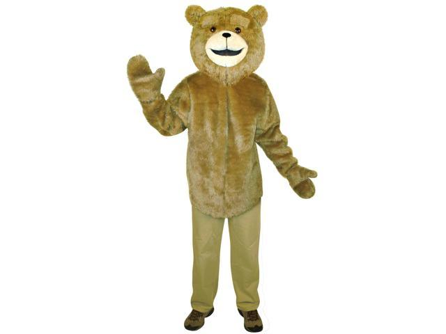 Ted The Movie Mask & Tunic Adult Costume One Size Fits Most