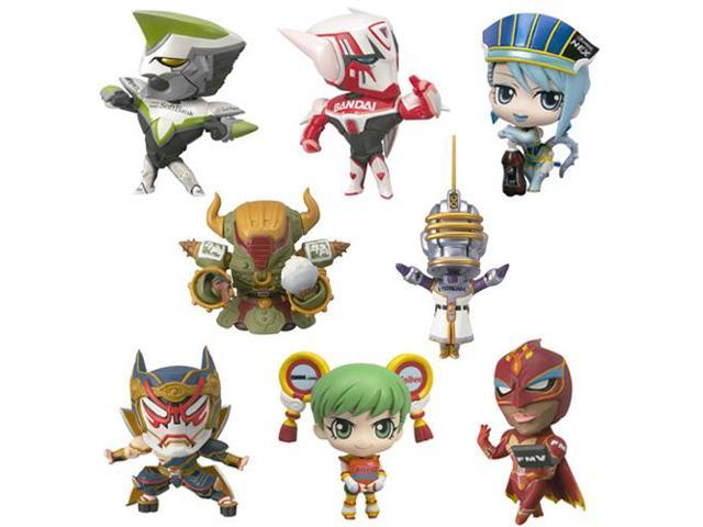Tiger & Bunny Petite Trading Figure Case Of 10