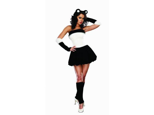 Sexy Panda Babe Costume Adult Medium/Large