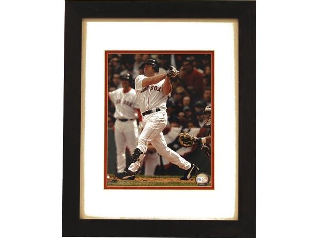 Red Sox Kevin Youkilis Swinging Framed Photo