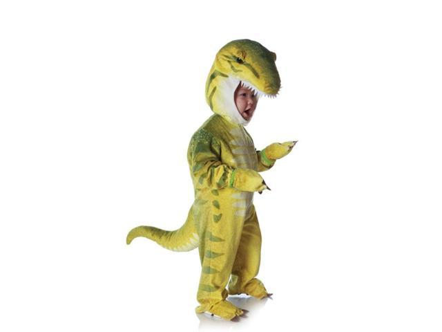 Green T-Rex Plush Costume Child Baby 2T-4T