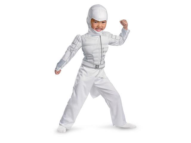 GI Joe Storm Shadow Muscle Jumpsuit Costume Child Toddler Large 4-6