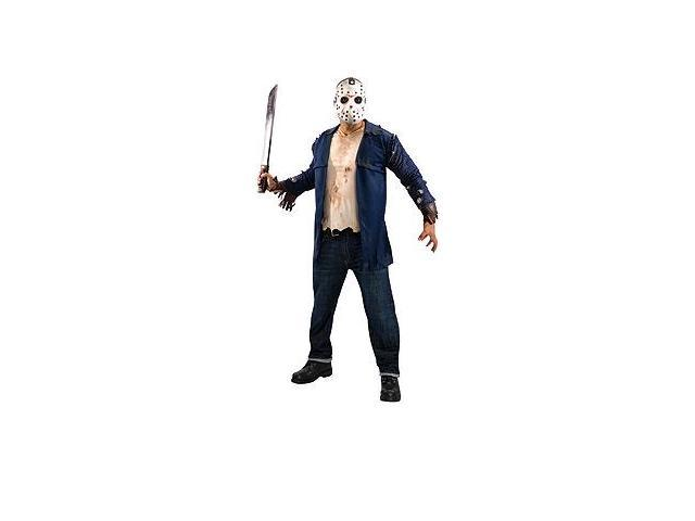 Friday The 13th Deluxe Jason Costume Adult Costume Standard