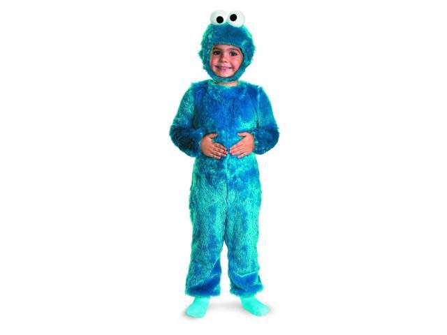Sesame Street Cookie Monster Comfy Faux Fur Baby Costume 2T