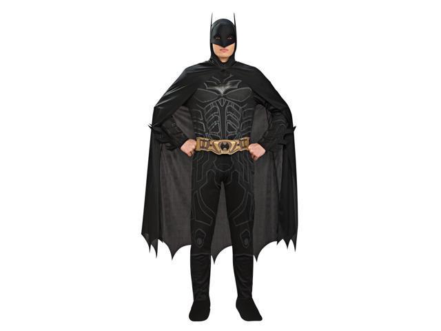 Batman Black Jumpsuit Costume Adult Large 42-44