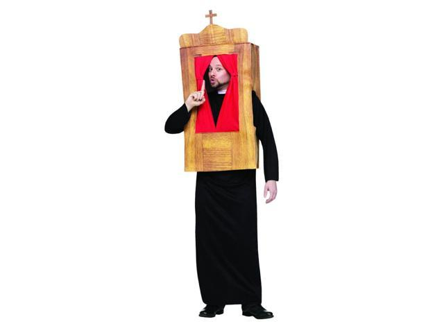 The Confessional Priest Costume Adult One Size Fits Most