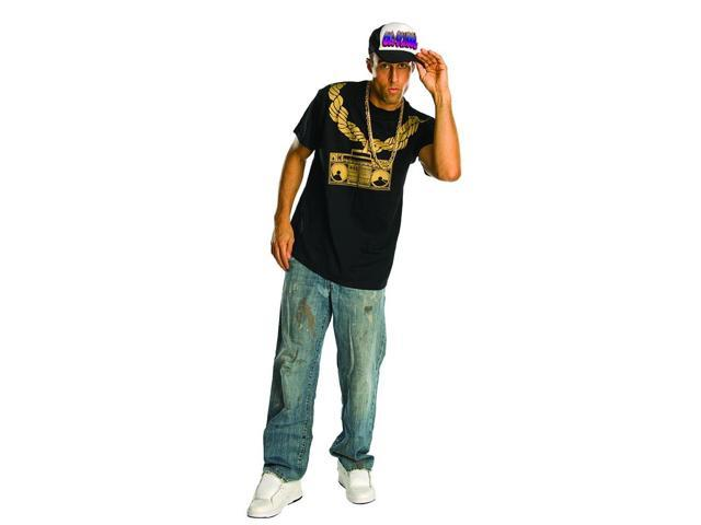 Old School Rapper Adult Costume Trucker Hat
