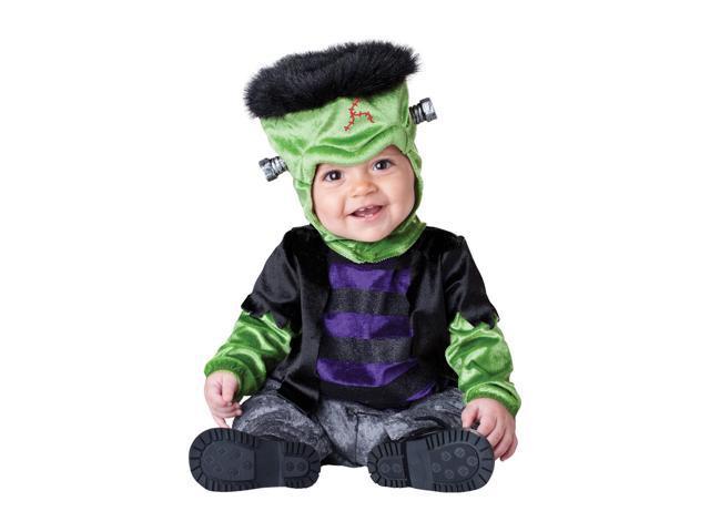 Franken Monster Boo Deluxe Infant Toddler Costume Small 6-12 Months