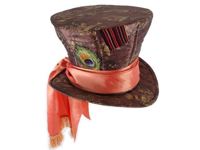 Disneys Alice In Wonderland Mad Hatter Adult Costume Hat