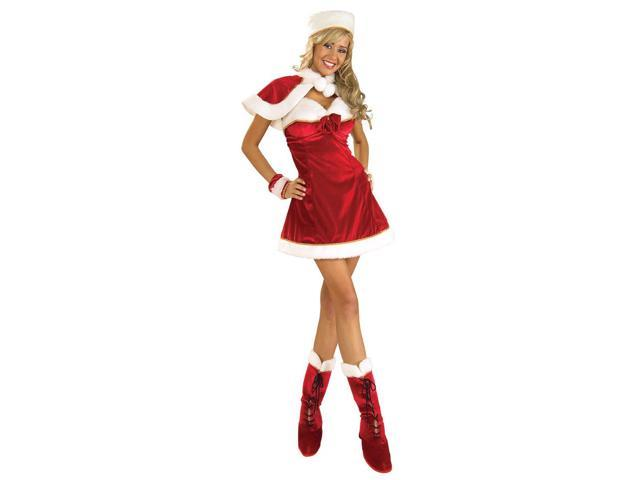 Sexy Santa's Miss Inspiration Costume Adult Standard