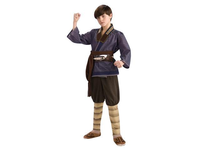 The Last Airbender Deluxe Sokka Costume Child Large