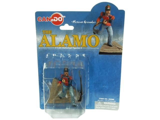 1:24 Scale Historical Figures The Alamo Figure E Mexican Grendier
