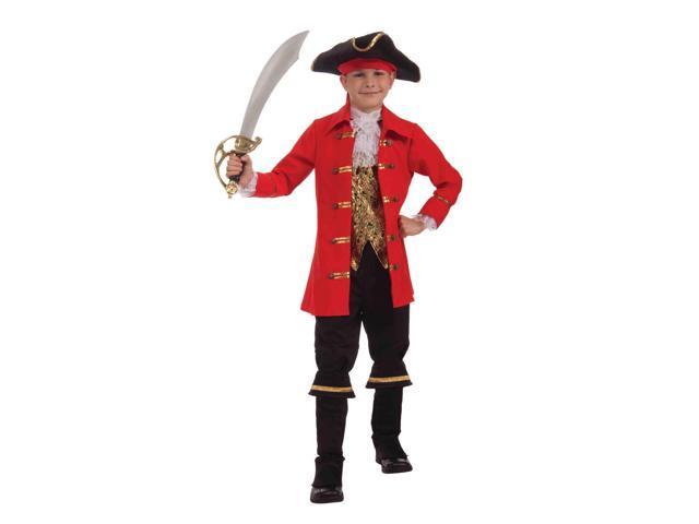 Pirate Captain Cutlass Child Costume Small