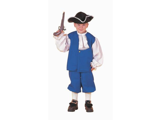 Colonial Boy Costume Child Medium