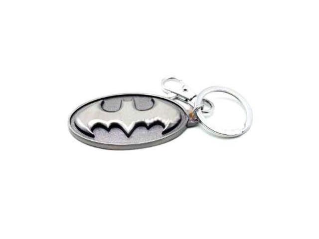 DC Comics Batman Logo Pewter Key Ring