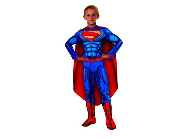 DC Comics Deluxe Superman Child Costume Large