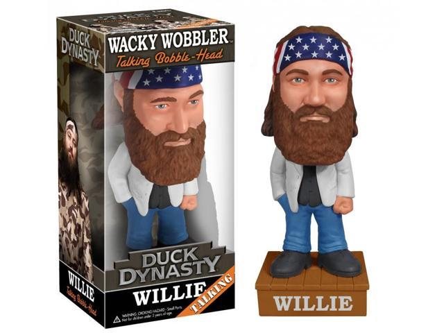 Duck Dynasty Talking Wacky Wobbler Figure: Willie