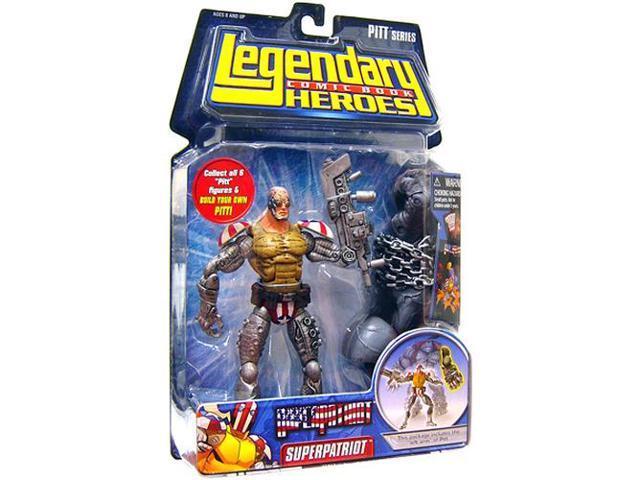 Legendary Heroes Figure Super Patriot (Variant)
