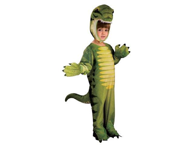 Dino-Mite Green Dinosaur Costume Jumpsuit Child Toddler 2T-4T