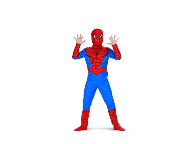 Marvel Spider-Man Classic Costume Child 7-8
