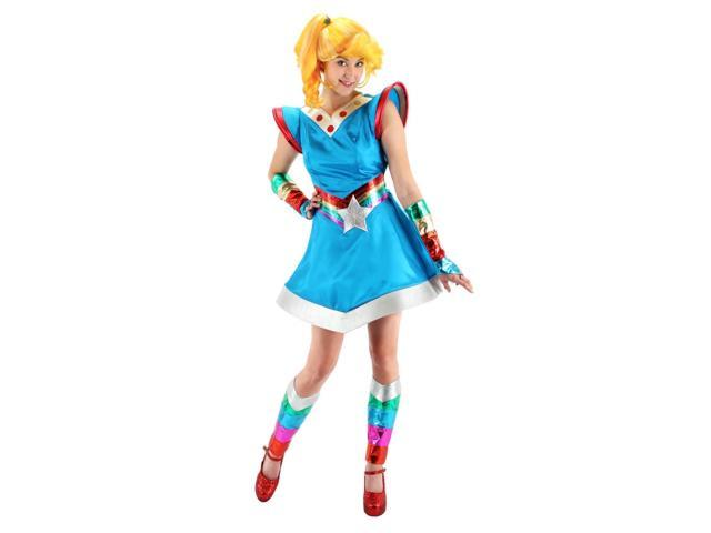 Rainbow Brite Costume Adult Small/Medium
