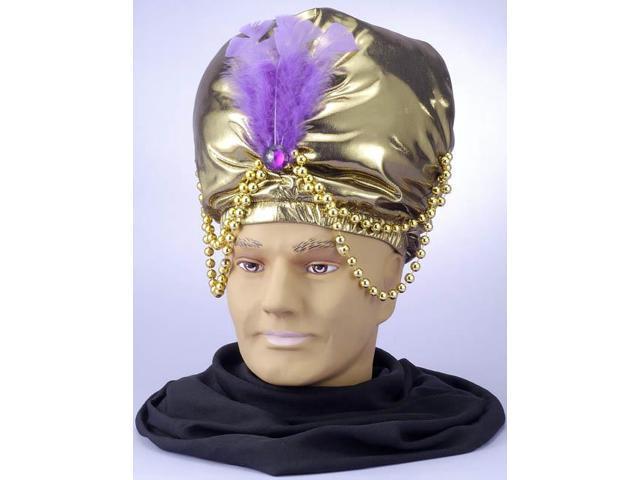 Gold Arabian Sultan Turban
