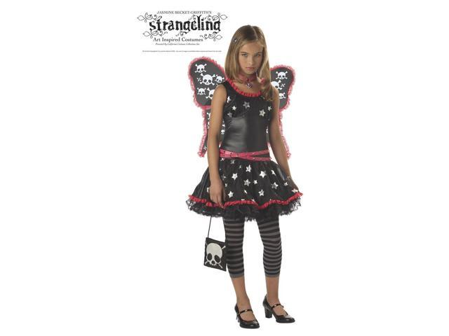 Strangeling Skulls And Stars Costume Tween Large