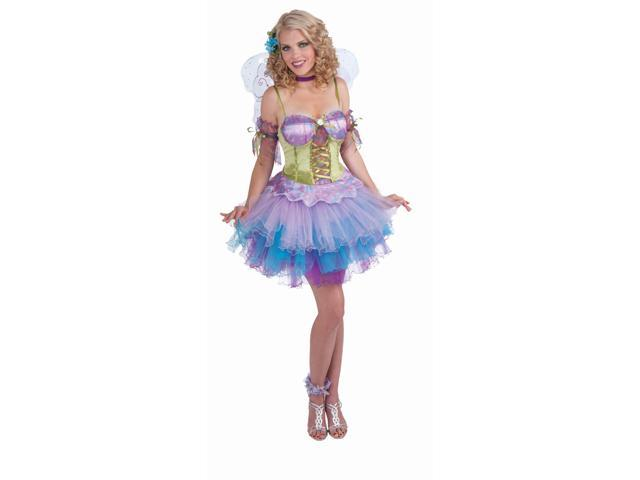 Spring Daydream Fairy Dress Costume w/Armbands Adult Standard