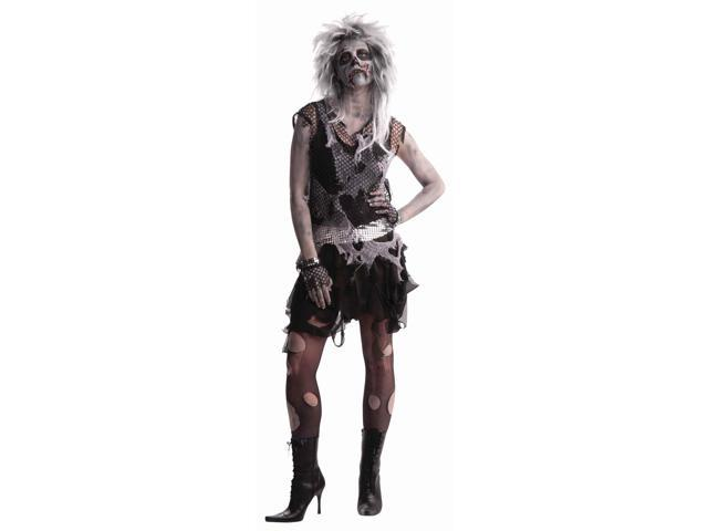 Punk Zombie Women Costume