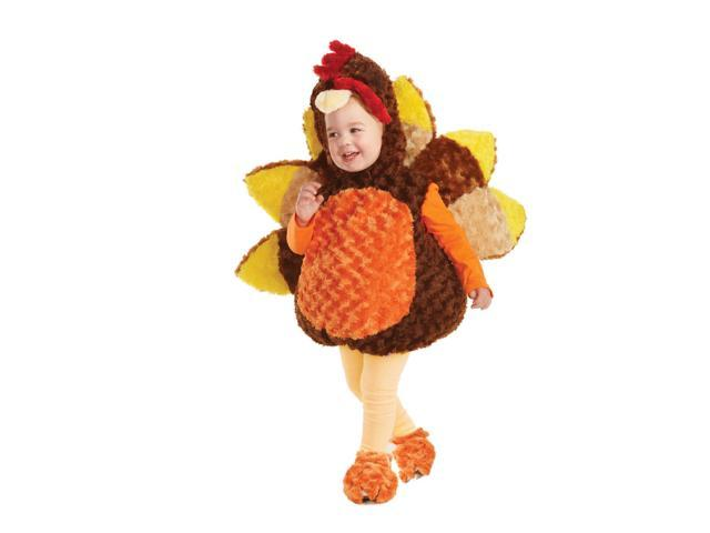 Belly Babies Holiday Turkey Costume Child Toddler Large 2T-4T