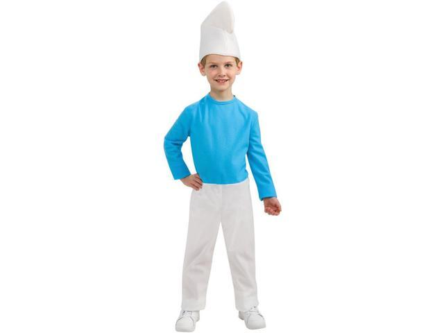 The Smurfs Movie Smurf Costume Child Large