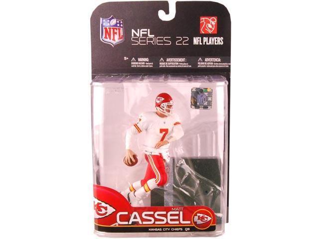 Mcfarlane NFL Series 22 Matt Cassel Kansas City Chiefs White Jersey Variant