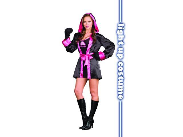 Sexy Down And Dirty Boxing Costume Adult Large