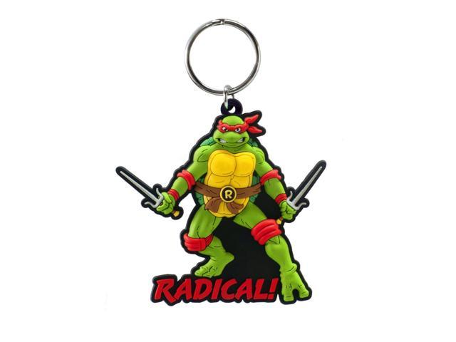Teenage Mutant Ninja Turtles Soft Touch PVC Key Ring: