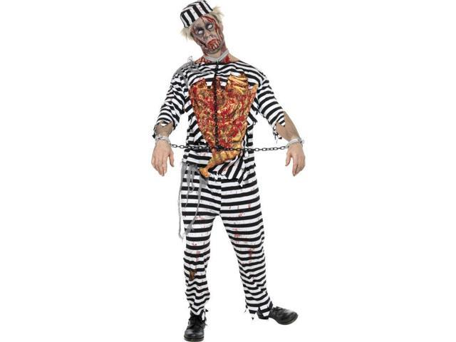 Zombie Convict Adult Costume Large