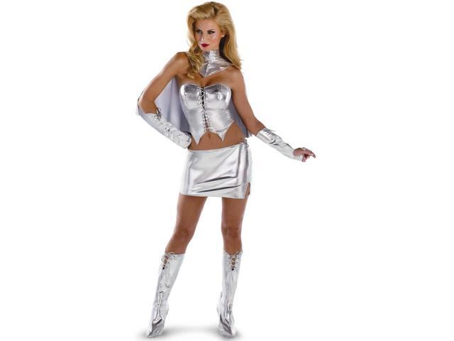 Marvel Emma Frost Sexy Deluxe Adult Costume 12-14