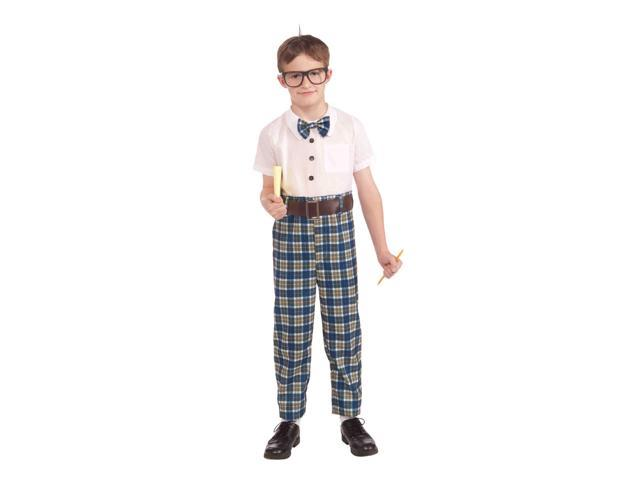 The Class Nerd Child Costume Medium