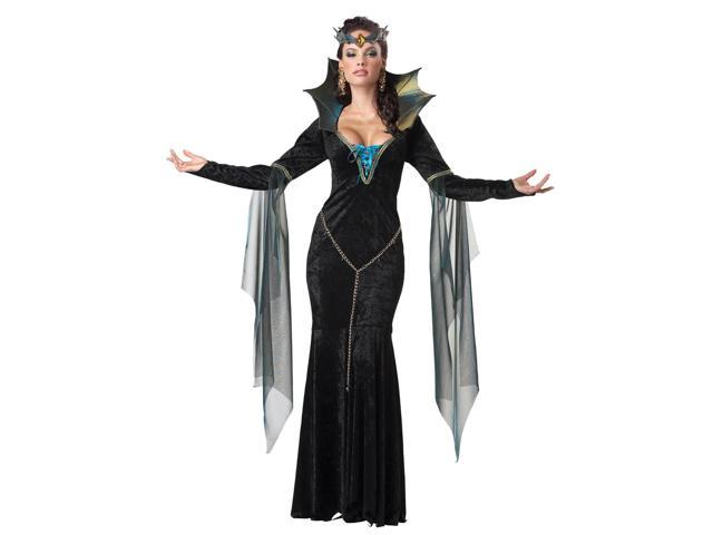 Evil Sorceress Queen Dress Costume Adult Small 6-8