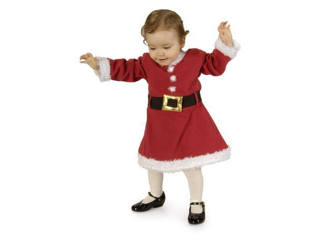 Santa Girl Costume Child 2-4T