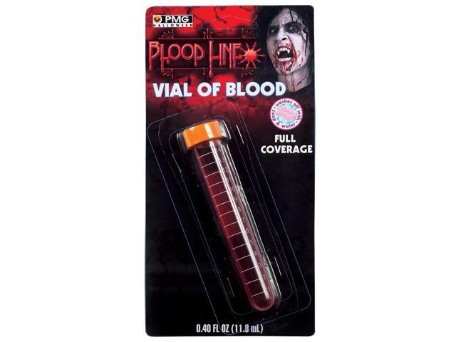Vial of Blood Costume Makeup Accessory