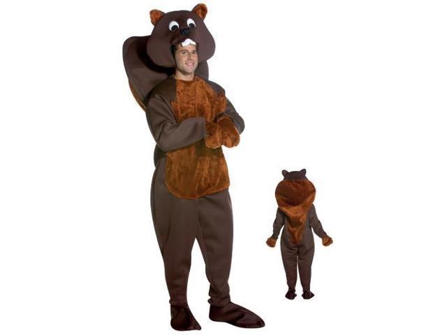 Nice Beaver Adult Costume Standard