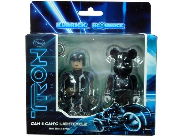 Tron Legacy Sam & Lightcycle Bearbrick Figure 2 Pack