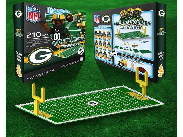 Green Bay Packers NFL OYO Figure and Field Team Game Time Set